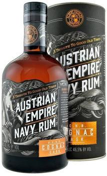 Michler's Austrian Empire Reserve Double Cognac Cask Navy Rum 46,5% 0,7l