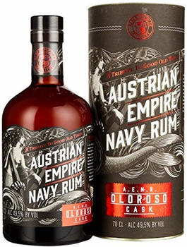 Michler's Austrian Empire Navy Reserve Double Cask Oloroso Rum 49,5% 0,7l