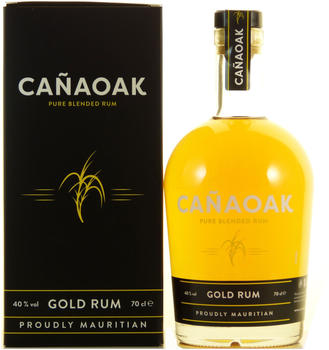 CANAOAK Pure Blended Gold Rum 0,7 l 40%
