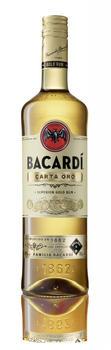 Bacardi Carta Oro Superior Gold Rum 40% 0,7l