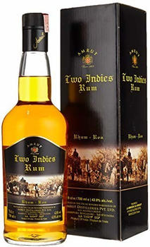 Amrut Two Indies Rum 42,8% 0,7l