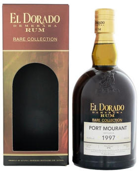 El Dorado Rum Port Mourant 1997 Rare Collection 57,9% 0,7l