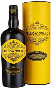 Odevie Island Signature Collection Yellow Snake Jamaican Amber Rum 40% 0,7l