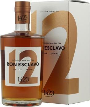 Ron Esclavo 12 Anos Solera Rum 40% 0,7l