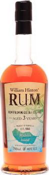 Hinton Rum Madeira Rum 3 Jahre 40% 0,7l + Gratis Tumbler