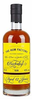 The Rum Factory Rum 12 Jahre 43% 0,7l