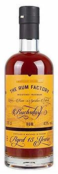 The Rum Factory Rum 15 Jahre 43% 0,7l