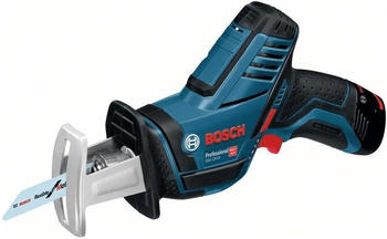 Bosch Professional GSA 12V-14 (2 x 3,0 Ah + Schnellladegerät) in L-Boxx