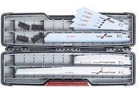 Bosch Säbelsägeblatt-Set ToughBox tlg. Carbide Demolition Set Reciprosäge