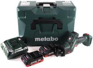 Metabo SSE 18 LTX Compact (2x 4,0 Ah + Ladegerät + MetaLoc)