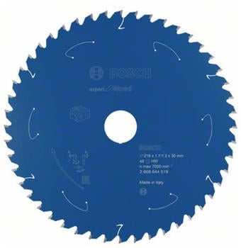 Bosch Expert for Wood für Akkusägen 216 x 1,7/1,2 x 30 48 Zähne