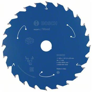 Bosch Expert for Wood für Akkusägen 160 x 1,5/1 x 20 24 Zähne
