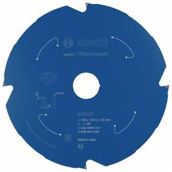 Bosch Expert for Fibre Cement für Akkusägen 190 x 1,8/1,2 x 30 4 Zähne