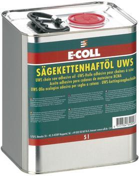 E-Coll Sägekettenhaftöl UWS 5 Liter