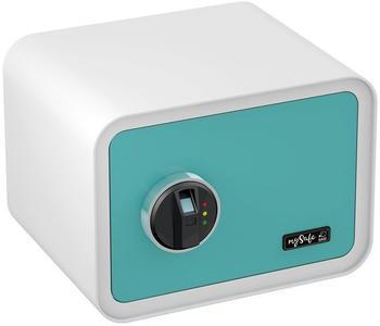 Basi MySafe 350 (Fingerprint) blau / weiß