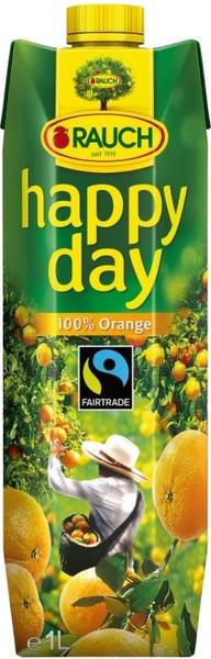 Rauch Happy Day 100% Orange Fairtrade (1 l)