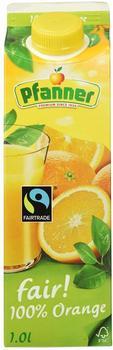Pfanner 100% Orange Fairtrade 1l