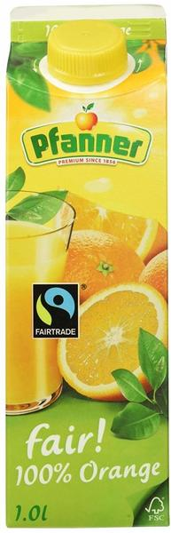 Pfanner 100% Orange Fairtrade 1l