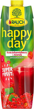 Rauch Happy Day Superfruits Rote Johannisbeere Acerola (1l)
