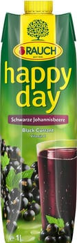 Rauch Happy Day Schwarze Johannisbeere (1l)
