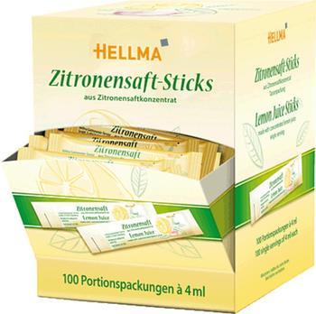 Hellma Zitronensaft-Sticks (100 Stück)