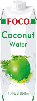 Kreyenhop & Kluge Foco Kokosnusswasser natürlich pur 1l