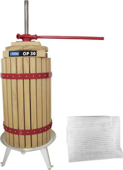 Güde Obstpresse 6, 12,18, oder 30 Liter, mechanisch mit Stahlspindel