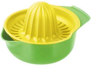 Fackelmann Zitronenpresse grün-gelb