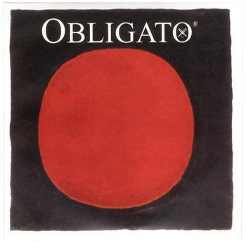 "Pirastro Obligato Violin ""D"" 4/4 Synthetic/Silver Mittel Envelope"