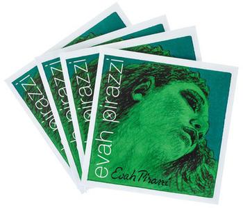 Pirastro Evah Pirazzi Violin 4/4 Set E-Gold Ball Mittel Envelope