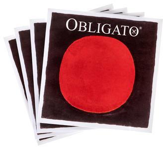 Pirastro Obligato Set Violin 4/4 E-Loop Mittel Envelope
