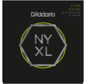 Daddario DAddario NYXL 11-56 Carbon Steel Alloy