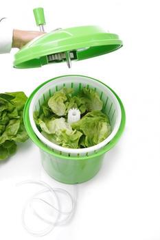Hendi Salatschleuder 12 l grün
