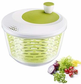 Westmark Salatschleuder Kunststoff 4,4 l weiß/grün
