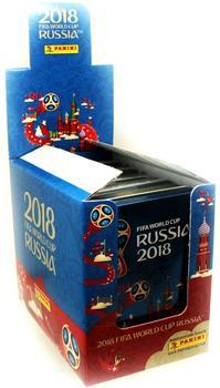 Panini WM Russia 2018 Sammelsticker - Display 5 Tin Dosen
