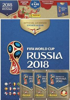Panini Road to 2018 World Cup Russia Sammelsticker - Sammelalbum + 3 Tüten