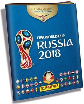 Panini WM 2018 Sticker Sammelalbum
