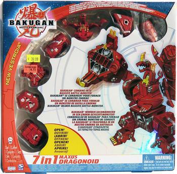 Spin Master Bakugan 7 in 1 Maxus Dragonoid