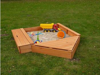 Promadino Sandkasten Multi inkl. Bugbox und Sitzbox