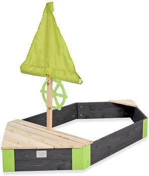 Exit Toys Aksent Holzsandkasten Boot 190x90cm