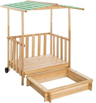 tectake-sandkasten-und-spielveranda-mit-dach-gretchen-gruen
