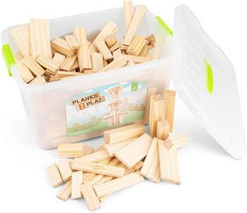 New Classic Toys Planks 2 Play - Mix Box - 250 Stk