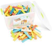 New Classic Toys Planks 2 Play - Mischen Sie 300 farbige Planken