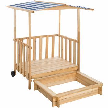 tectake-sandkasten-und-spielveranda-mit-dach-gretchen-blau