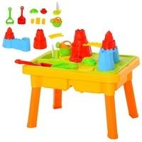 Homcom Kinder Sandspielzeug Burgthema