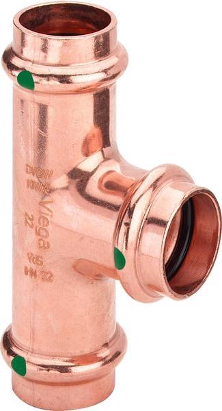 Viega T-Stück SC Profipress 2418 28 x 15 x 28 mm (295189)