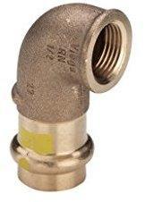 Viega Winkel 90 Grad SC Profipress G 2614.2 42 mm x 1 1/2 (345914)