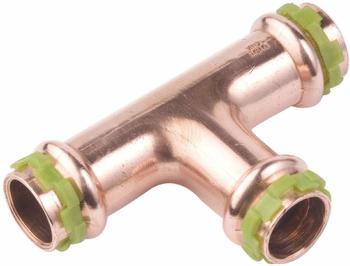 Seppelfricke SudoPress T-Stück 15 mm gleiche Abgänge VC130