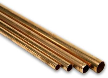 Pipetec Kupferrohr Stange RAL-DVGW EN 1057 35 x 12 mm x 5 m