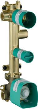 Axor Citterio E Grundkörper für Thermostatmodul 380/120 Unterputz für 3 Verbraucher (36708180)